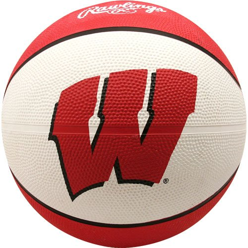 NCAA Wisconsin Badgers Crossover Full Size Basketball by Rawlings