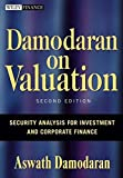 img - for Damodaran on Valuation: Security Analysis for Investment and Corporate Finance book / textbook / text book