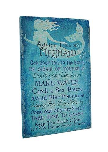 Mermaid Canvas, Advice From A Mermaid ...