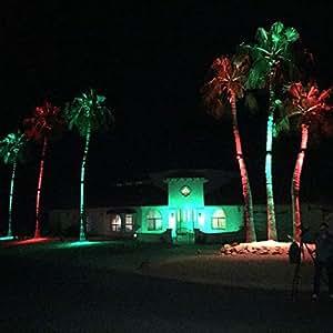 amazon com palm tree light garden outdoor