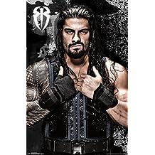 WWE Roman Reigns Wrestling Sports Poster 24x36