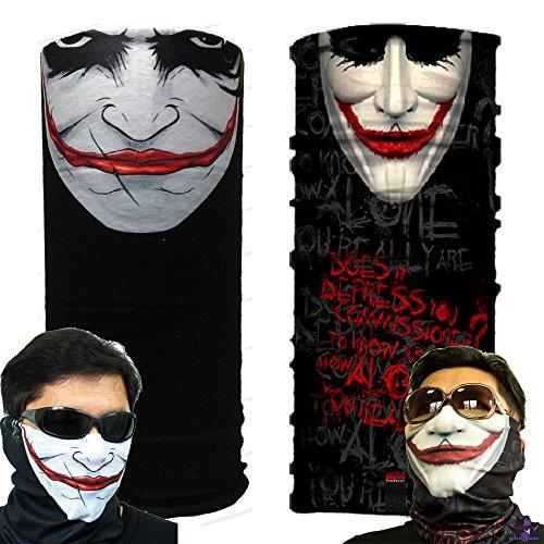 Joker Batman UV Protection Fishing Mask Scarf Bandana Headband Headwear M14206 (Dog Batman Mask)
