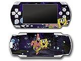 Spongebob Squarepants Patrick Friends Octopus Video Game Vinyl Decal Skin Sticker Cover for Sony PSP Playstation Portable Original Fat 1000 Series System