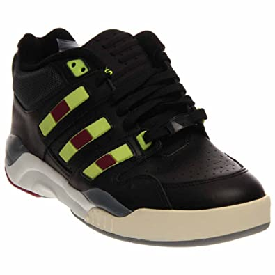 f43888e57 adidas Torsion Court Strategy Mens in Black Yellow