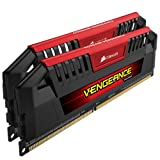 Corsair Vengeance Pro Series Red 8GB (2x4GB) DDR3 1600 MHZ (PC3 12800) Desktop Memory CMY8GX3M2A1600C9R