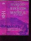 img - for Habitants et marchands de Montr al au XVIIe si cle (Civilisations et mentalit s) book / textbook / text book