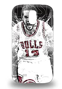 Excellent Design NBA Chicago Bulls Joakim Noah #13 3D PC Case Cover For Galaxy S4 ( Custom Picture iPhone 6, iPhone 6 PLUS, iPhone 5, iPhone 5S, iPhone 5C, iPhone 4, iPhone 4S,Galaxy S6,Galaxy S5,Galaxy S4,Galaxy S3,Note 3,iPad Mini-Mini 2,iPad Air )