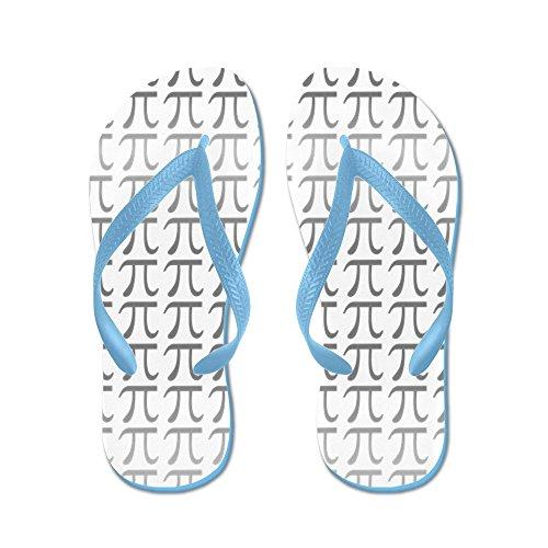 CafePress PI - Flip Flops, Funny Thong Sandals, Beach Sandals Caribbean Blue