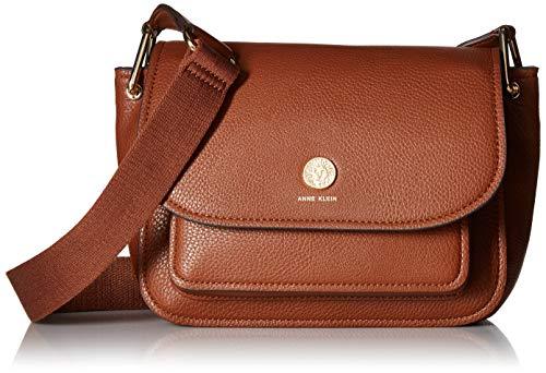 Anne Klein a Hinge Soft Flap Shoulder Bag, mocha ()