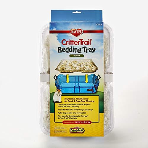 Kaytee Critter Trail Bedding Tray Habitat – 3 /Pack
