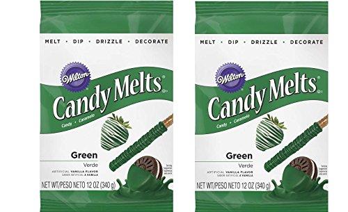 (Wilton Dark Green Candy Melts,)