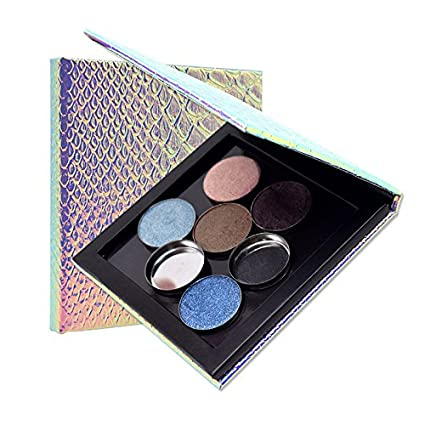 Yiwa Empty Makeup Palette Magnetic Refill Eyeshadow Blush DIY Portable Beauty Cosmetic Storage Tools