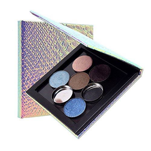 Yiwa Empty Makeup Palette Magnetic Refill Eyeshadow Blush DI