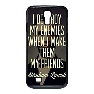 Abraham Lincoln Quotes For Case Ipod Touch 5 Cover Protecter - Retail Packaging - Durable Plastic