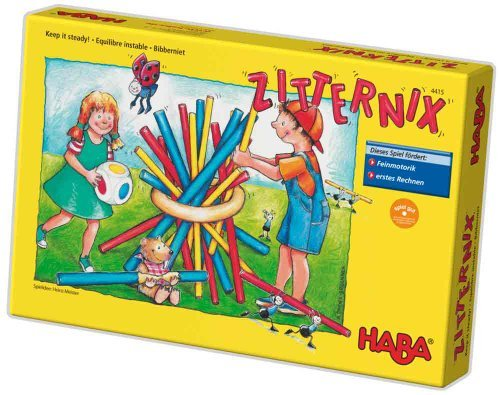 HABA Keep it steady  A Family Game of Skill and Dexterity for Ages 6+ (Made in Germany) by HABA