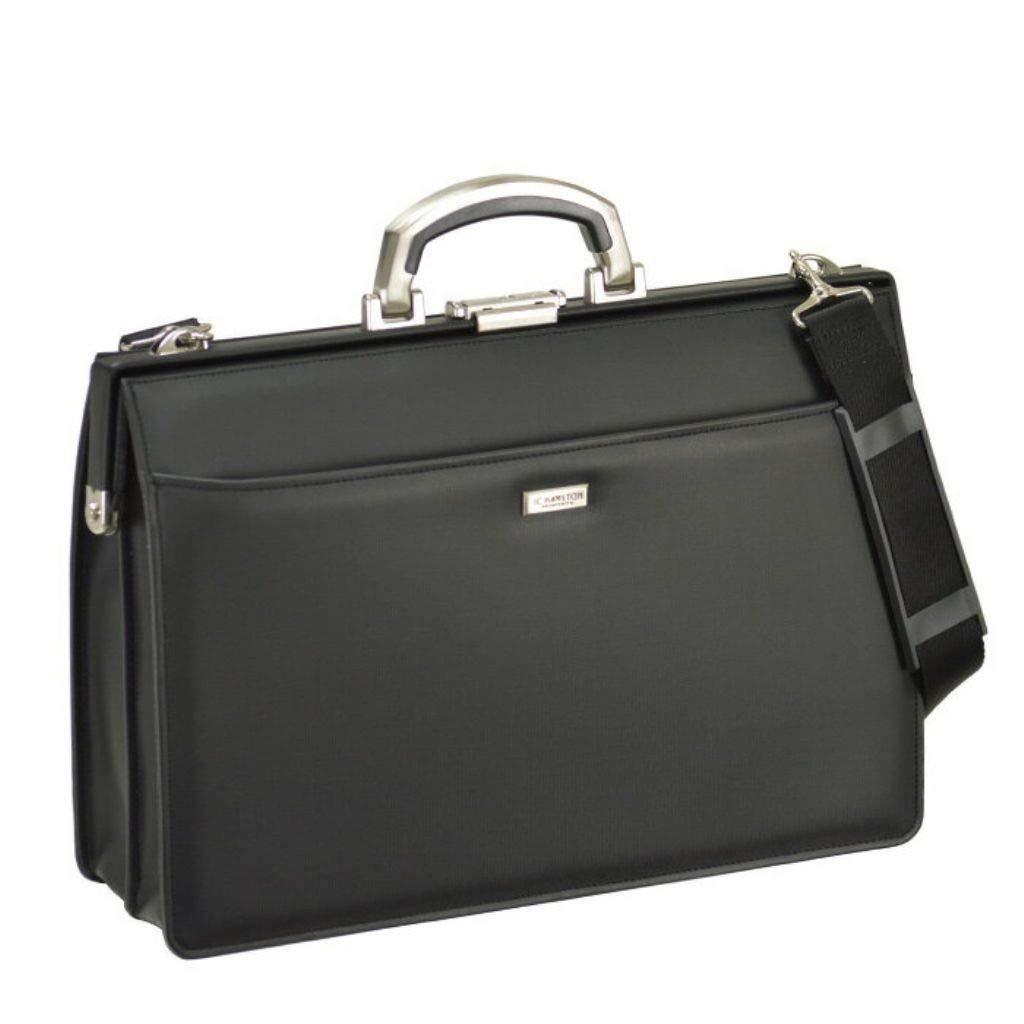 [和製 鞄] ビジネスバッグ 高級アルミ取手 B4ファイル対応 メンズ バッグ B07NXXNH69