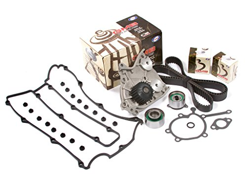 Evergreen TBK271VCT Fits Toyota 4Runner 3.4L DOHC Timing Belt Kit Valve Cover Gasket Water Pump Evergreen Parts And Components