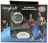 GSI Super Quality All-In-One Heart Rate Monitor Watch and Transmitter Chest Belt - USB Interface, 3D Sensor, Upload Date To Computer - Measures Distance, Speed, Steps, Calories and Fat - For Running, Jogging, Marathon Training and Walking - Chronograph, Alarm, Stopwatch Functions