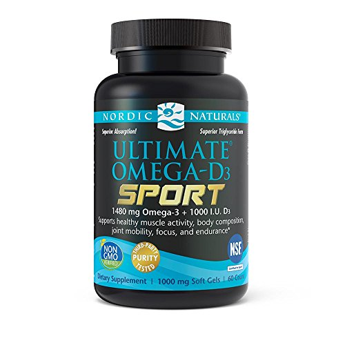 Nordic Naturals Ultimate Omega D3 Supports product image