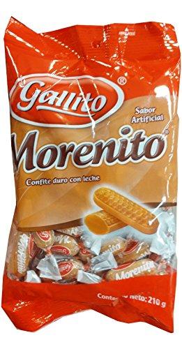 Gallito Morenito Hard Candy, 2 Bags of 7.5 Ounces