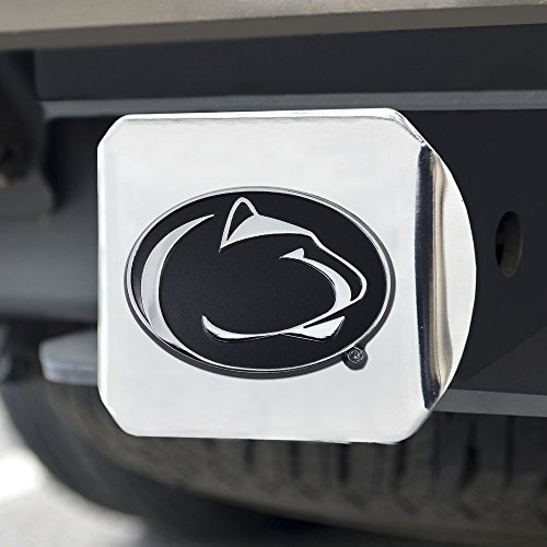 FANMATS  15088  NCAA Penn State Nittany Lions Chrome Hitch Cover ()