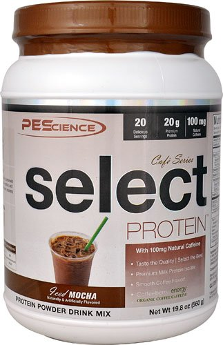 PEScience Select ProteinT Cafe Series Iced Mocha -- 20 Servings - 2PC by PEScience