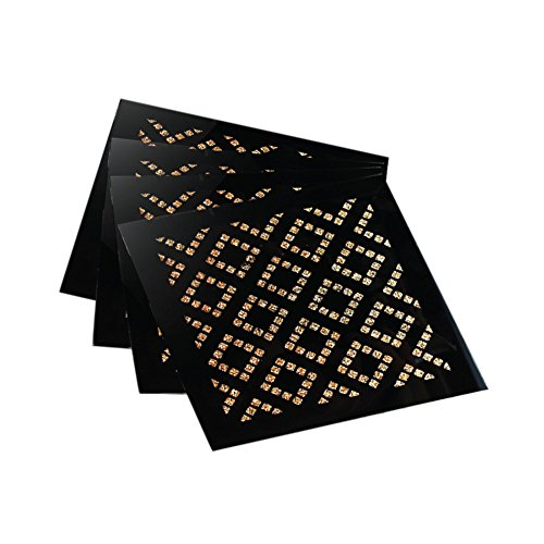 American Atelier Diamond Coasters/Pillar Holders (Set of 4), ()