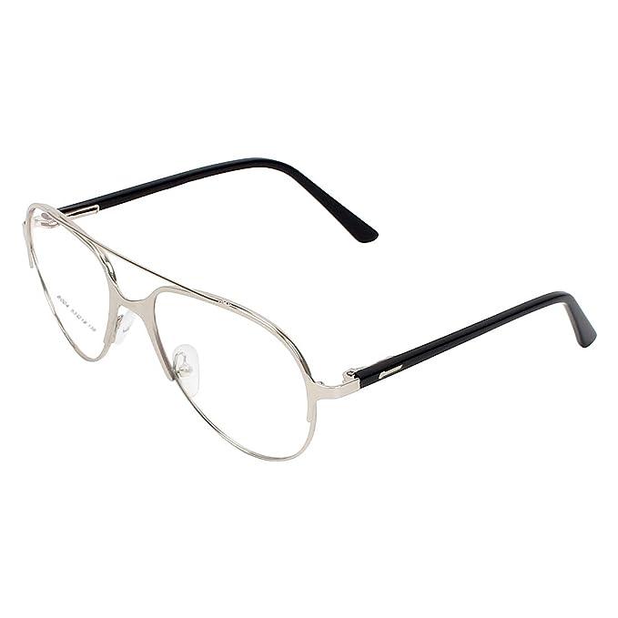 455b16c271 Zyaden Aviator Unisex Eyewear Frame- Frame-567  Amazon.in  Clothing    Accessories