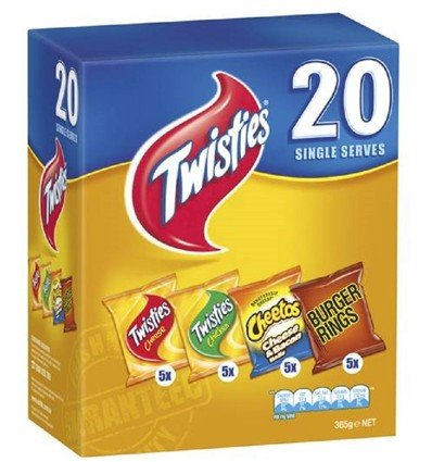 Twisties Mix 20pk