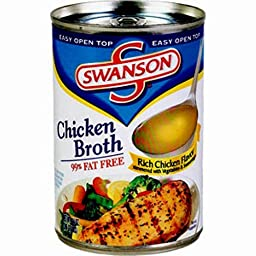 Swanson Chicken Broth, 14.5 Ounce, 12-Count