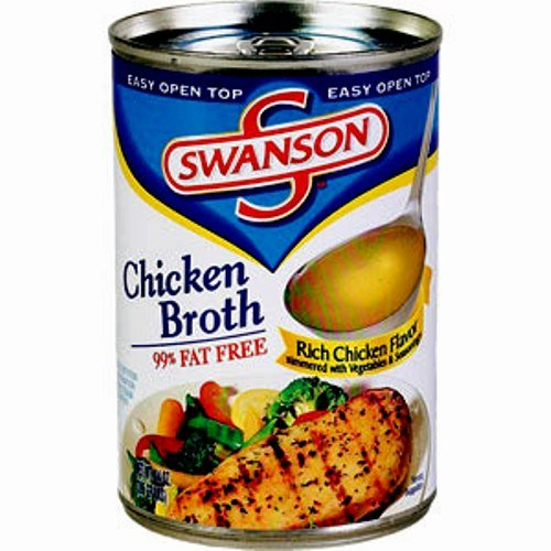 Swanson Chicken Broth Ounce 12 Count
