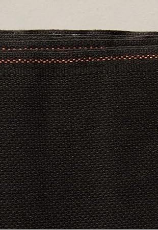 negro Negro Tela Aida de 14 110cm x 100cm