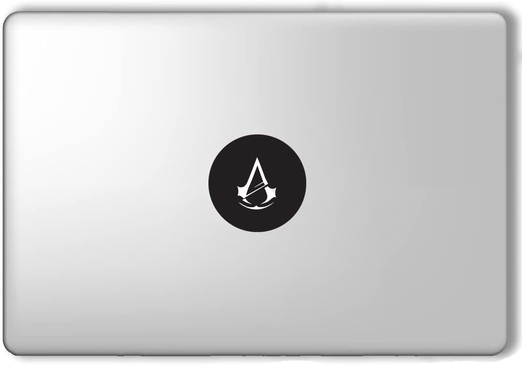 SHANCrafts Assassin's Creed Logo Apple Macbook Laptop Vinyl Sticker Decal