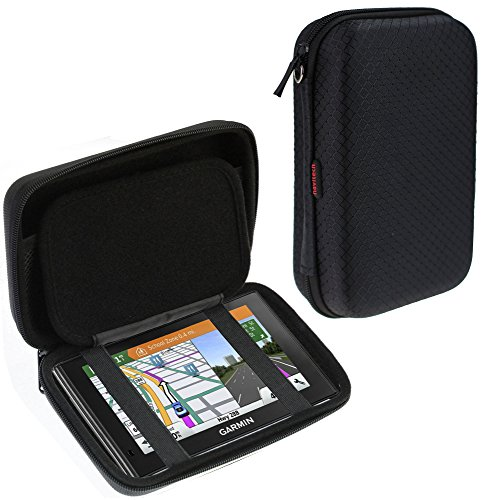Navitech Black Hard Carry Case Cover For The Garmin Nuvi 2589 LMT