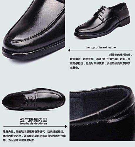 Gaorui Hommes Appartements Occasionnels Pu Chaussures En Cuir À Lacets Robe / Formelle Affaires Oxford Classique