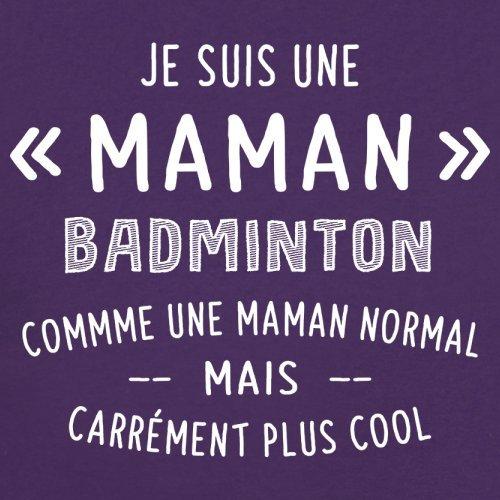 une maman normal badminton - Femme T-Shirt - Violet - L