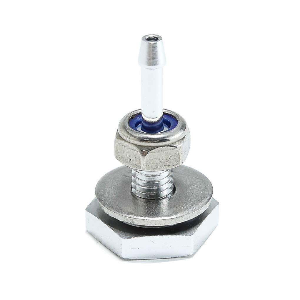 Sunlera Aleación de Aluminio de Coche Universal del turbocompresor de Silicona Boost acoplador de la tubería Finalizar Turbo VACUOMETRO TID