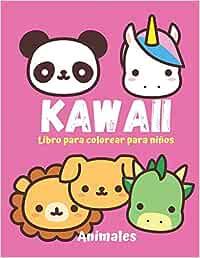 KAWAII Libro para colorear para niños. Animales.: 18