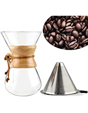 Sialle Pour-Over Coffee Maker Drip Pot 800ml/28oz (Classic)