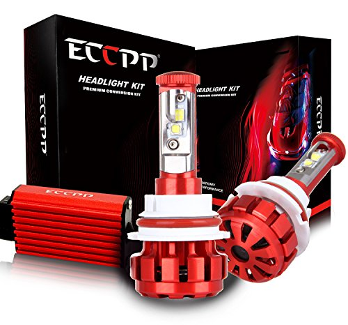 Buy Discount ECCPP LED Headlight Bulbs Conversion Kit High Power Bright- 9007 - 80W,9600Lm 6K Cool W...