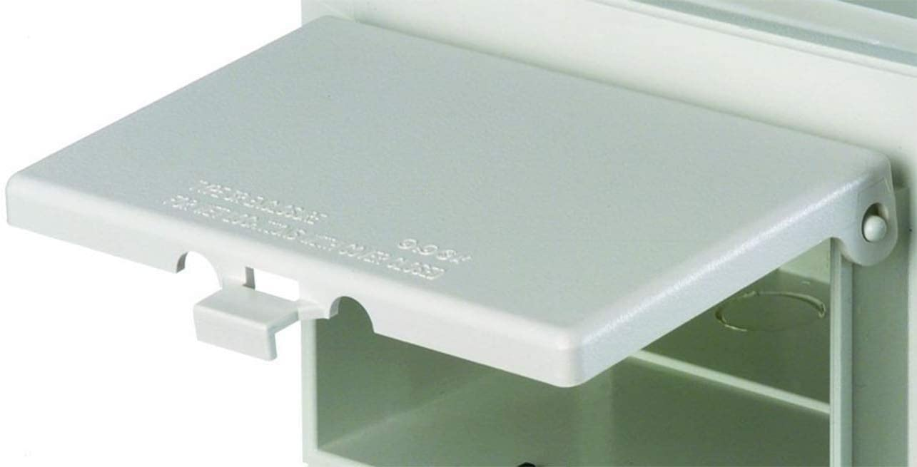 DBHW Low Profile InBox Replacement Covers White Arlington
