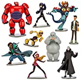 Disney Store Official Big Hero 6 Figure Play Set 9 Piece Deluxe thumbnail