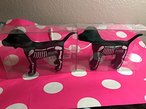 Victoria's Secret PINK Bundle of Two Skeleton Mini Dog Halloween]()