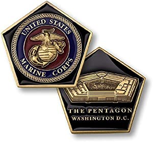 Pentagon / US Marines Challenge Coin