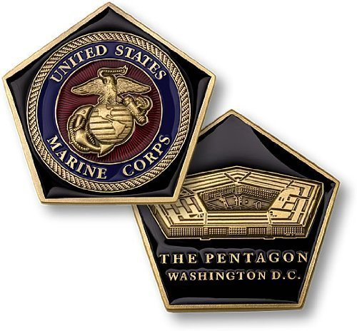 Pentagon-US-Marines-Challenge-Coin
