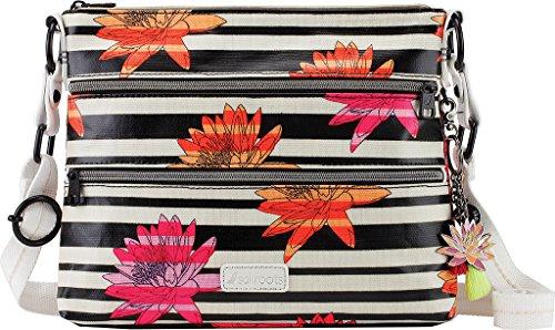basique Femme Sakroots107214 bandoulière d'une Zen toile à Sac Neon Flower recouvert UfqPtw