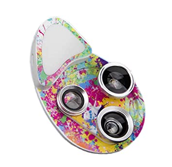 Keephen 4 in 1 Lente Macro Profesional HD Teléfono 15X Lente Macro ...
