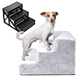 Soft Portable Pet Stairs Cat Dog 3 Steps Portable Step Ramp Small Climb Bonus free ebook By Allgoodsdelight365