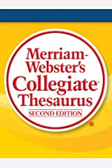Merriam-Webster's Collegiate Thesaurus, Second Edition Kindle Edition