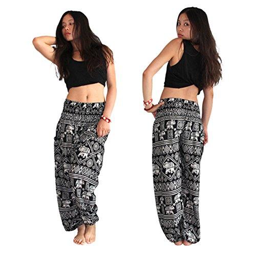 MaaMgic - Pantalón - para mujer negro negro